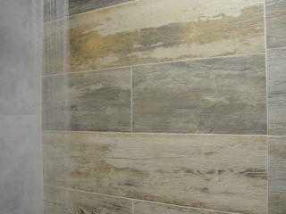 Graça Brenner Arquitetura e Interiores Casas de banho modernas Betão Acabamento em madeira
