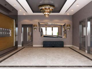 MİNERVA MİMARLIK Vestíbulos, pasillos y escalerasAccesorios y decoración