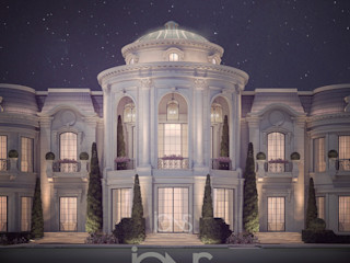 Magnificent Palace Exterior Design IONS DESIGN Classic style houses Stone White