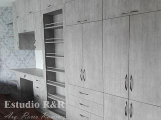 Estudio R&R СпальняШафи і шафи ДСП Сірий
