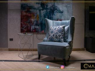 لمسات أناقة متنوعة comaart.furniture Living roomSofas & armchairs