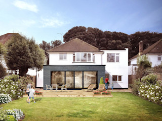 The best home extension for modern home STAAC Einfamilienhaus Mehrfarbig