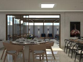 ESPAÇO GOURMET ED. PIAZZA SAN PIETRO Maria Laura Coelho Cozinhas modernas