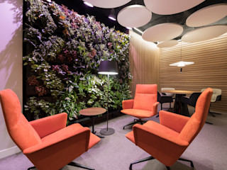 AIR GARDEN Modern Study Room and Home Office
