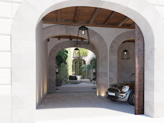 Carre de Sol, Palma 4D Studio Architects and Interior Designers Eclectic style garage/shed