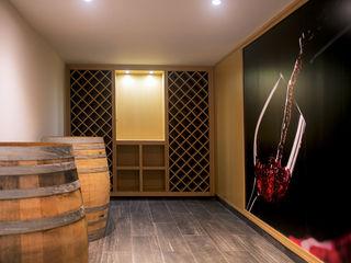 Pedigree Group Modern Home Wine Cellar Solid Wood Beige