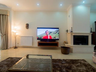 Pedigree Group Modern Living Room Solid Wood Brown