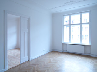 Innenausbau einer Altbauwohnung in Berlin-Neukölln Holzeco GmbH   Haus- & Wohnungssanierung   Komplettsanierung von A - Z Klassische Esszimmer