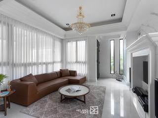 屏東 - 李公館 禾廊室內設計 客廳 White