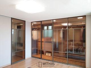 WITHJIS(위드지스) Closets modernos Alumínio/Zinco Ambar/dourado