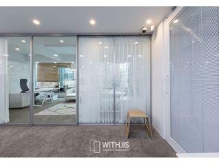 WITHJIS(위드지스) Escritórios Alumínio/Zinco Metalizado/Prateado