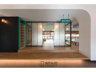 WITHJIS(위드지스) Escritórios Alumínio/Zinco Preto
