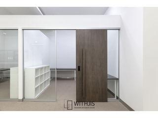 WITHJIS(위드지스) Escritórios Madeira Castanho