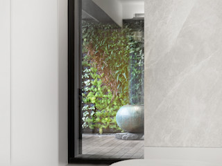何侯設計 Ho + Hou Studio Architects Salas de estilo moderno