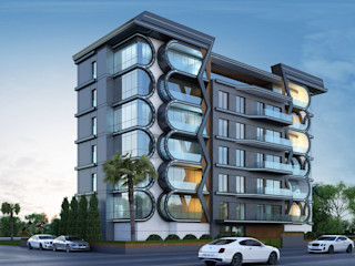 MİNERVA MİMARLIK Modern houses