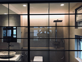 Amuselighting and Consultancy Limited Scandinavian style bathrooms