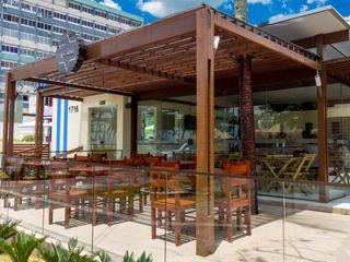 Arquitetura FPA Balcones y terrazasAccesorios y decoración Madera maciza Acabado en madera