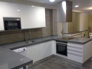 Qdekitchen Вбудовані кухні Білий