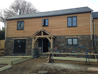 Cornwall Cladding 2019 Building With Frames Wooden houses Wood