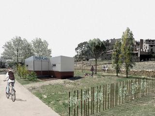 Ejulve Residencial MoDULoW Casas prefabricadas Hierro/Acero Marrón