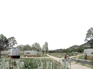 Ejulve Residencial MoDULoW Casas prefabricadas Hierro/Acero Beige