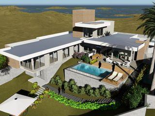 Casa Térrea - Moderna - Ilha do Boi ARUS Associados Ltda. Casas familiares Multi colorido