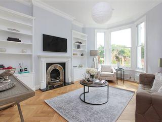 Design and Build London Renovation Modern living room Glass White