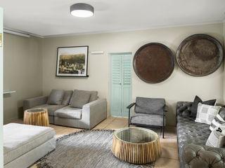 Vorna Valley Living Room Makeover Deborah Garth Interior Design International (Pty)Ltd Modern living room