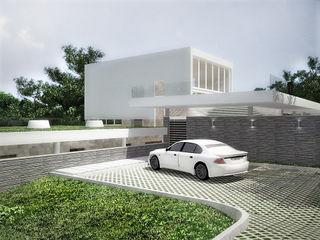 Sonoma RRA Arquitectura Garajes abiertos Piedra Blanco