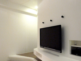 XS HOUSE 形構設計 Morpho-Design 现代客厅設計點子、靈感 & 圖片