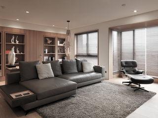 FRAME 形構設計 Morpho-Design 现代客厅設計點子、靈感 & 圖片