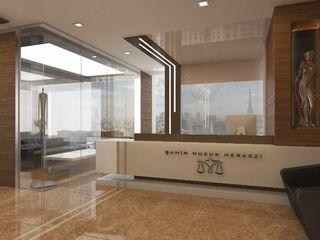 ANTE MİMARLIK Office spaces & stores Beige