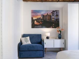 studio ferlazzo natoli Scandinavian style bedroom