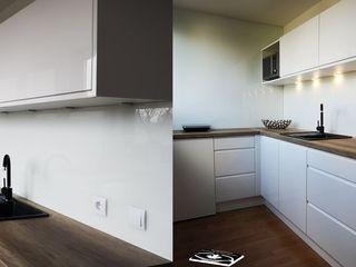 Einbauküchen nach Maß Komandor Essen Schiebetüren Studio Jarosch Siegfried Moderne Küchen MDF Weiß