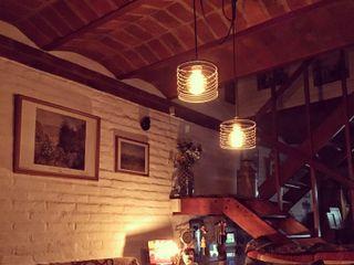 Lamparas Colgantes Estilo Vintage Industrial Deco Living Loft Lamparas Vintage Vieja Eddie LivingsIluminación Hierro/Acero Multicolor