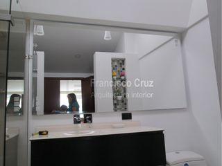 Francisco Cruz Arquitectura Interior Modern Bathroom Glass White