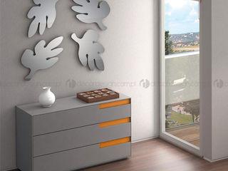 Decordesign Interiores СпальняТуалетні столики Інженерне дерево Помаранчевий