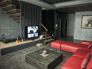 勻境設計 Unispace Designs Modern Living Room Marble