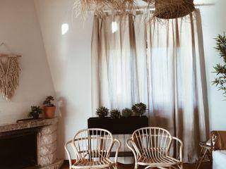 Rafaela Fraga Brás Design de Interiores & Homestyling Salas de estar rústicas Madeira Bege