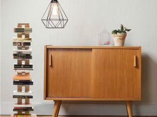 Bookshelf Zia Ortensia Le zie di Milano 玄關、走廊與階梯櫥櫃與書櫃 實木