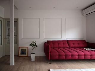 notogawa house renovation ALTS DESIGN OFFICE クラシックデザインの リビング