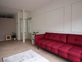 notogawa house renovation ALTS DESIGN OFFICE 北欧デザインの リビング