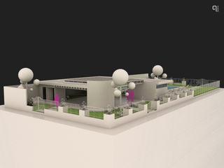 9 Viento Arquitectos ระเบียง, นอกชาน คอนกรีต White
