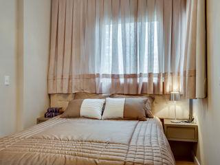 Samantha Sato Designer de Interiores Petites chambres Bois Beige