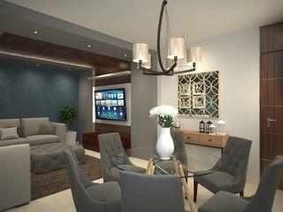 Interiorisarte Living roomTV stands & cabinets Wood Grey