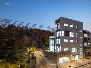 (주)건축사사무소 모도건축 Bangunan Kantor Modern Kayu White