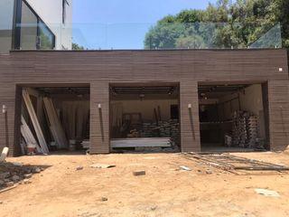 Inovar Garajes Compuestos de madera y plástico Marrón