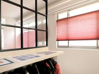 西曬房間的救世主!炎熱午後全靠它:蜂巢簾 MSBT 幔室布緹 家居用品布織品 合成纖維 Red