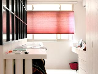 西曬房間的救世主!炎熱午後全靠它:蜂巢簾 MSBT 幔室布緹 窗戶與門窗廉與布簾 布織品 Red