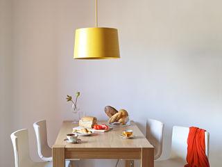 PISO PARLAMENT29 Miel Arquitectos Comedores de estilo mediterráneo Blanco